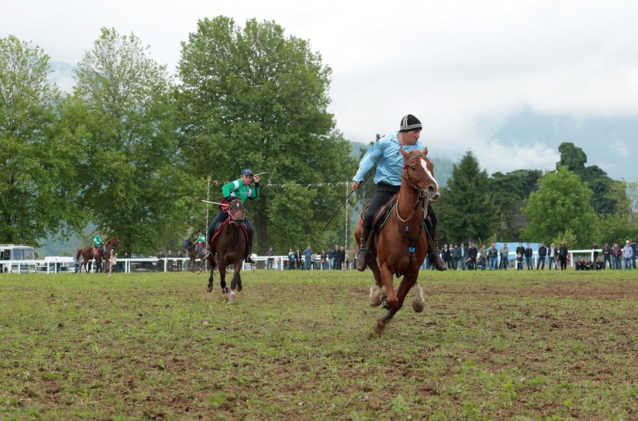 Horseback riding in Abkhazia