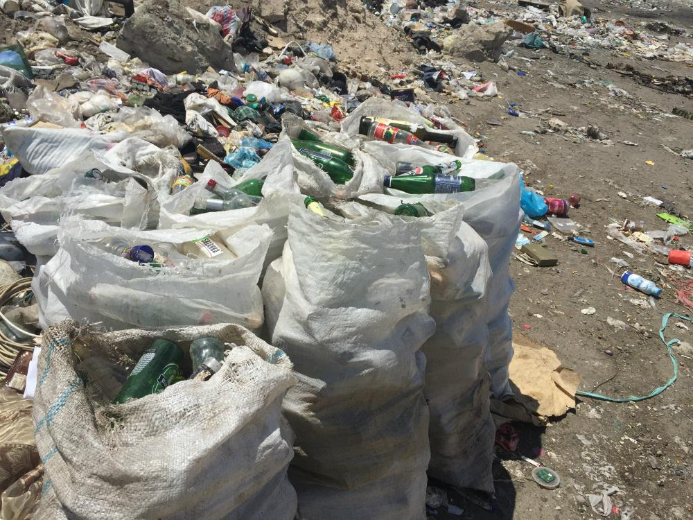 Residents of the Yerevan garbage dump