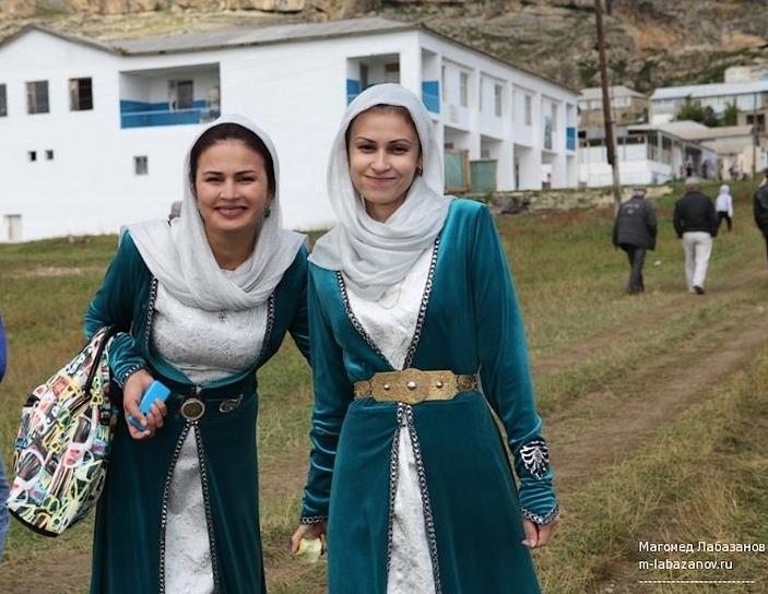 Girls dagestan Two women