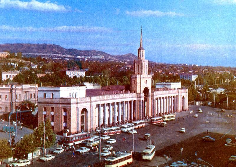 10 вокзал ТБИЛИСИ советский