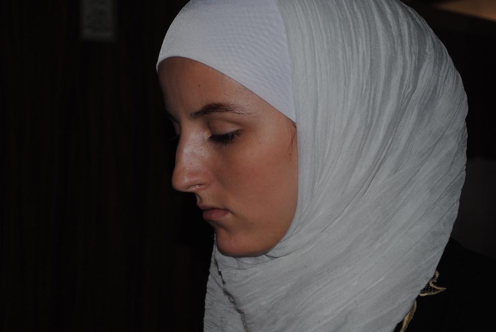 A Muslim woman in Abkhazia