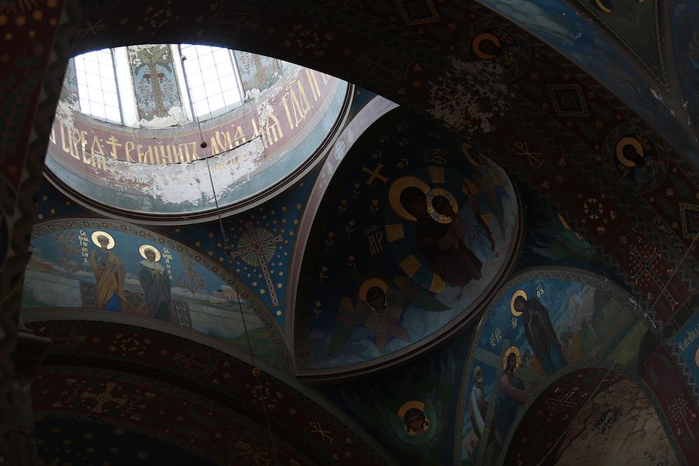 Конфликт в церкви в Абхази. В Новоафонском монастыре