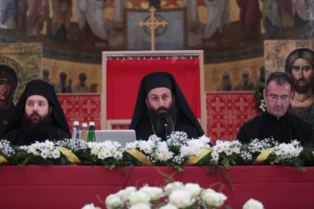 Who is more important in the Abkhaz Church. Photo of Father Dorotheus