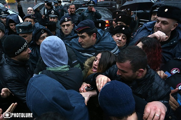 Protest action, Artհur Sargsyan