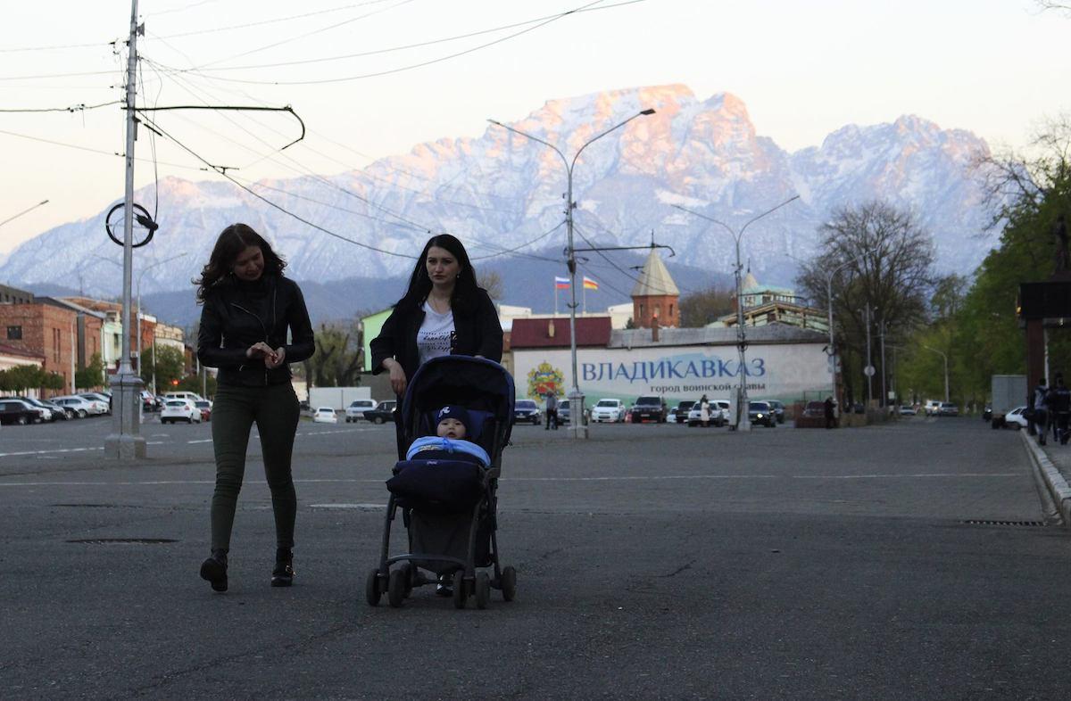 Туризм и торговля между Грузией и Северной Осетией. Владикавказ, апрель 2017, Тамара Агкацева, JAMnews