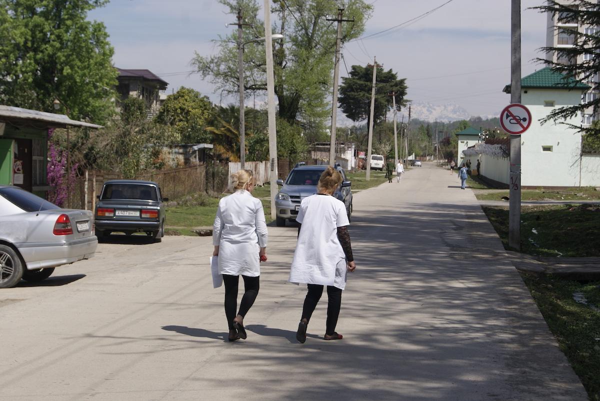 Количество пропускных пунктов на грузино-абхазской границе сократилось с шести до двух