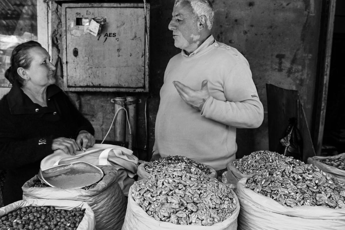 A day at Tbilisi's central market. Photo JAMnews/Agneshka Zielonka
