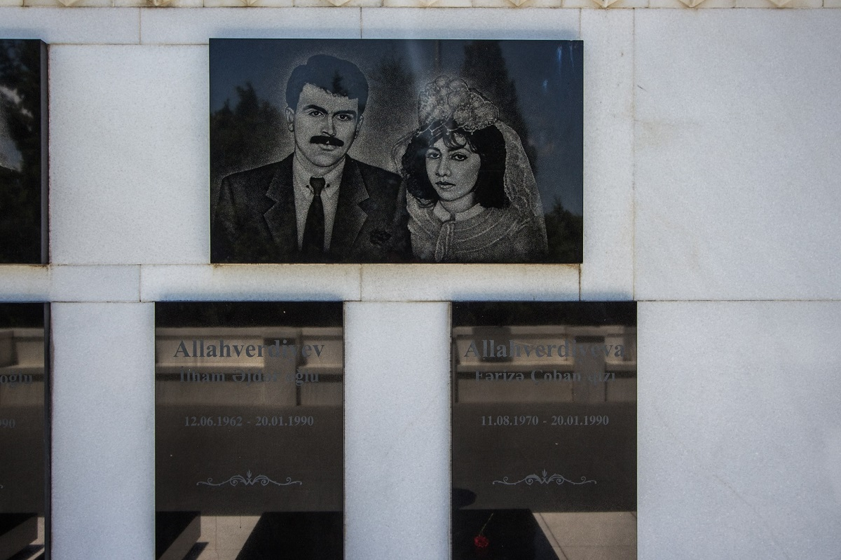 Ilham and Fariza Allahverdiyev, newlyweds, who died on 20 January 1990, when the Soviet troops shot down the civilians in Baku. Ilham was killed on the day of the tragedy, and Fariza committed suicide a few days later. Their wedding day was declared as the Lovers' Day in Azerbaijan, a kind of alternative to Valentine's Day.. What causes suicide