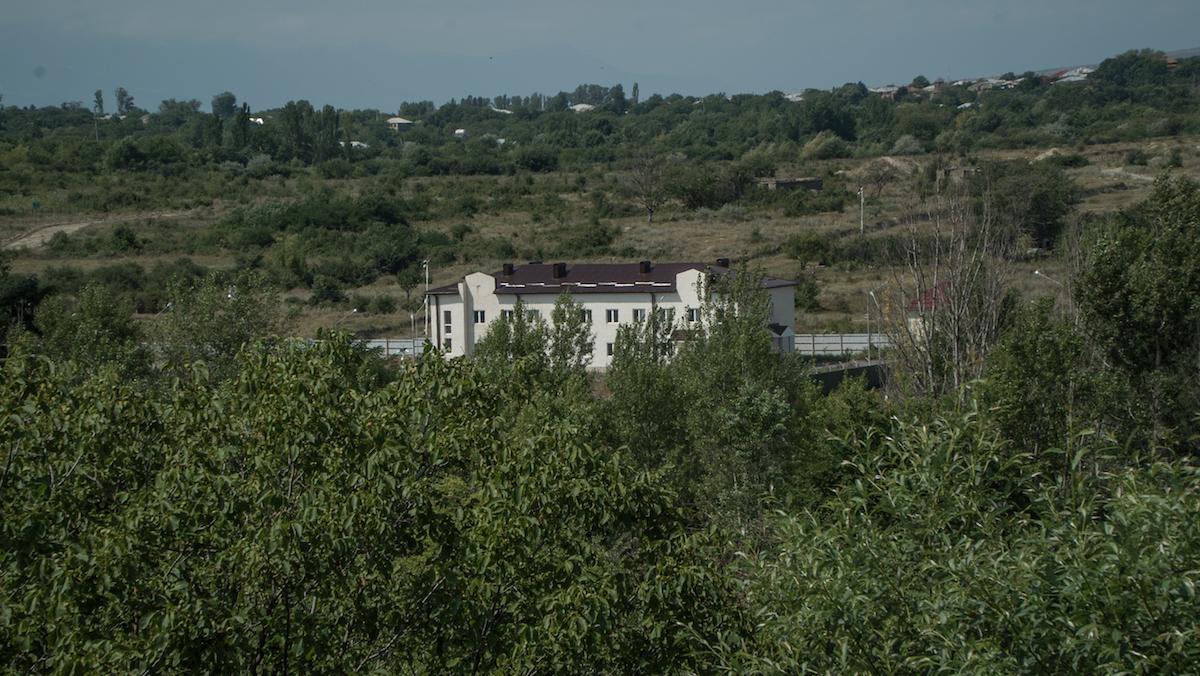 Вид на Цхинвали. Жизнь в зоне грузино-осетинского конфликта