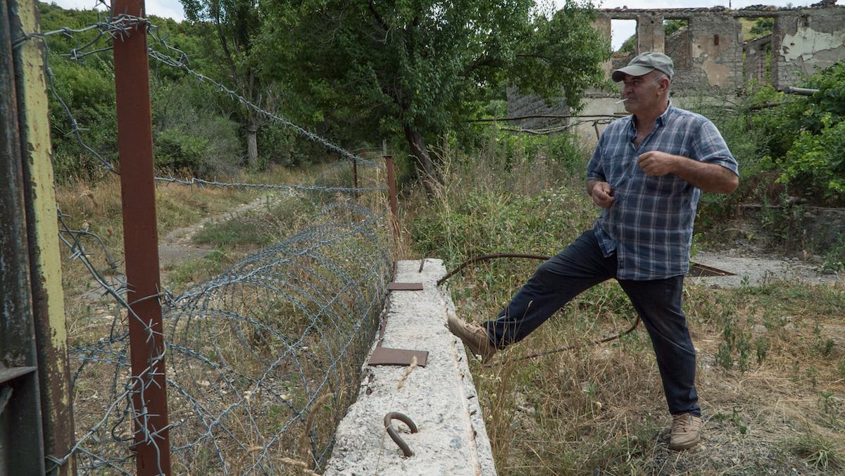 Жизнь в зоне грузино-осетинского конфликта