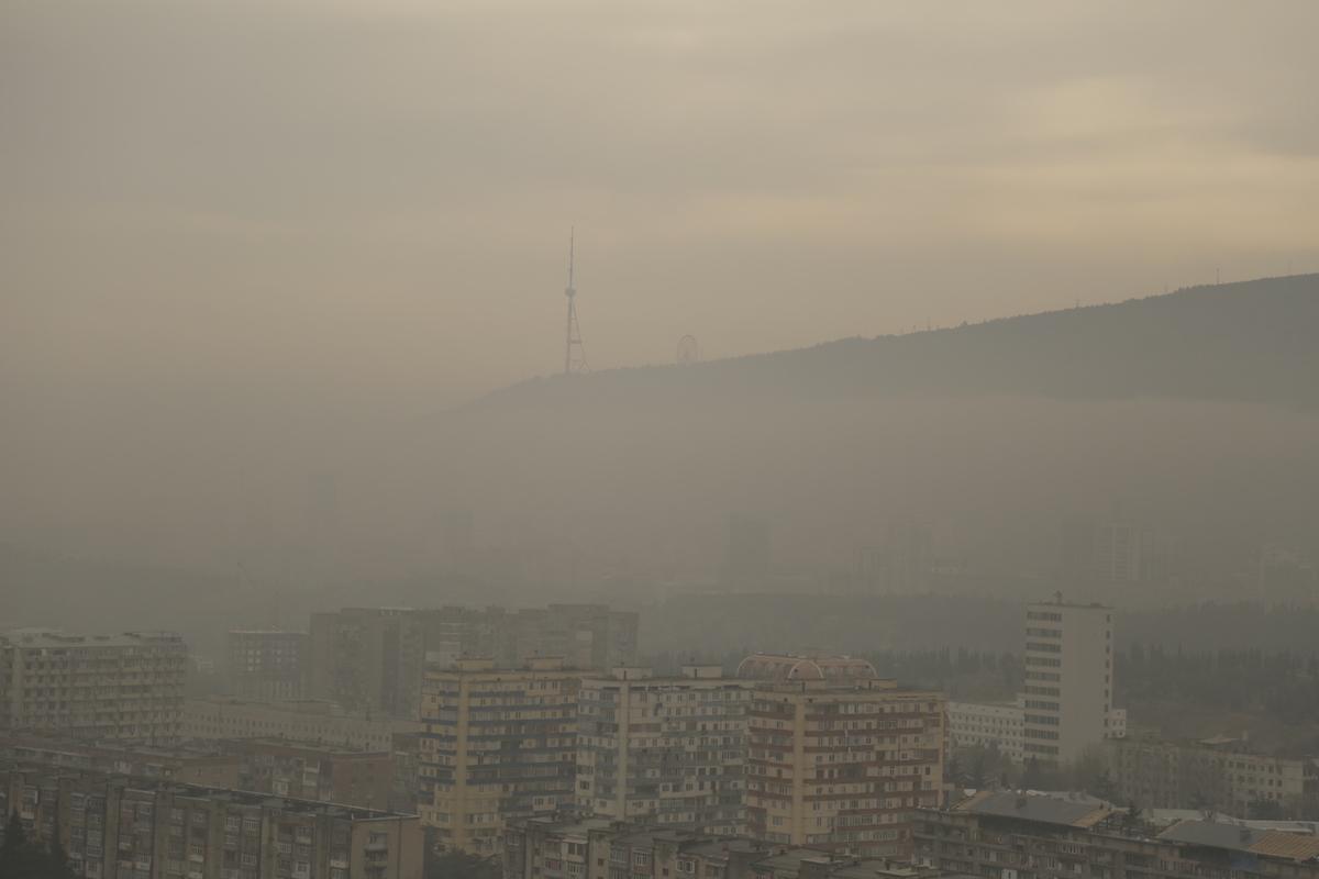 Air pollution in Tbilisi