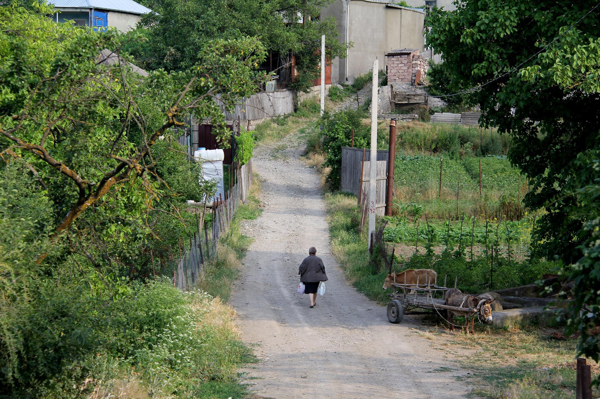 Как живут люди в Картли, Грузия. Блог и фотографии Марго Леско
