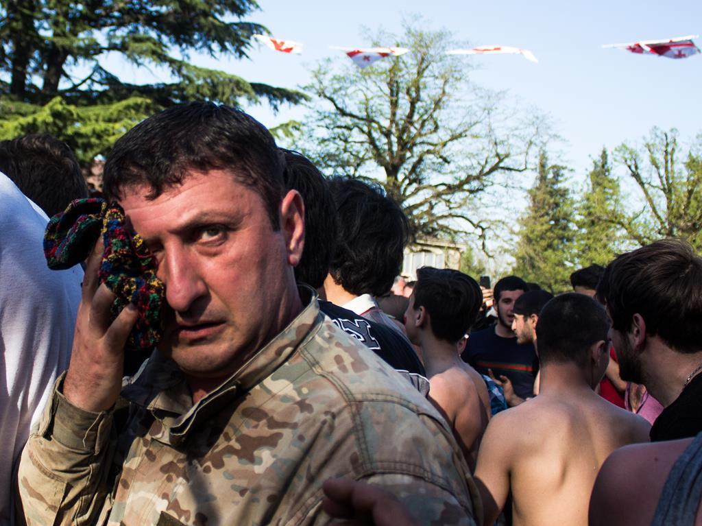 Что такое лело - грузинская игра в мяч? Фото JAMnews/Ангешка Зиэлонка