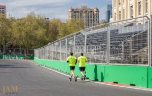 в Баку стартовал четвертый этап «Формула-1»