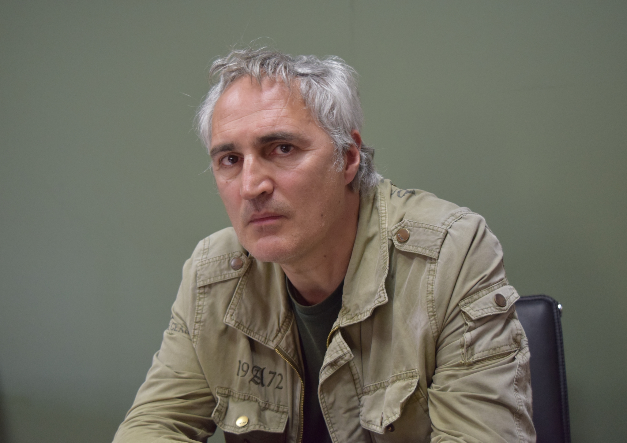Tigran Khzmalyan, director of the film 'The Shard'. Documentary films about the Karabakh war