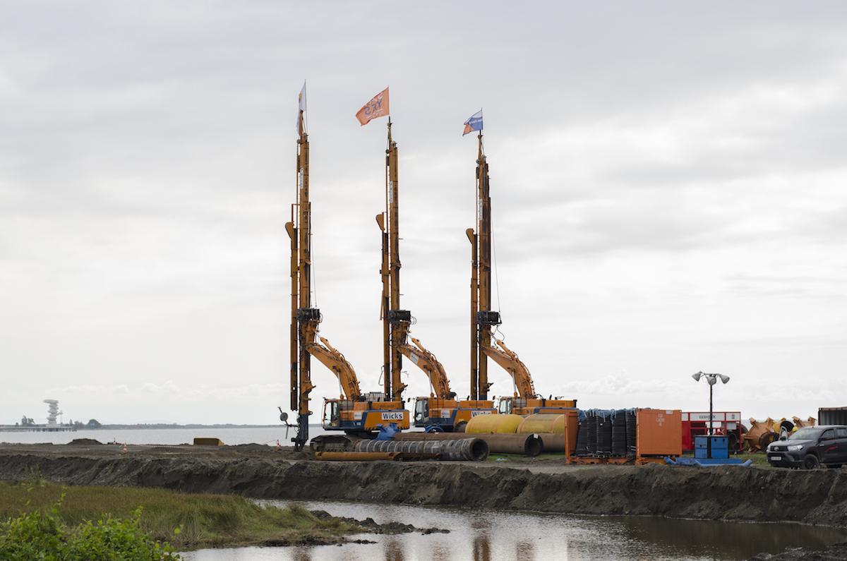 Строительство первого глубоководного порта в Анаклии