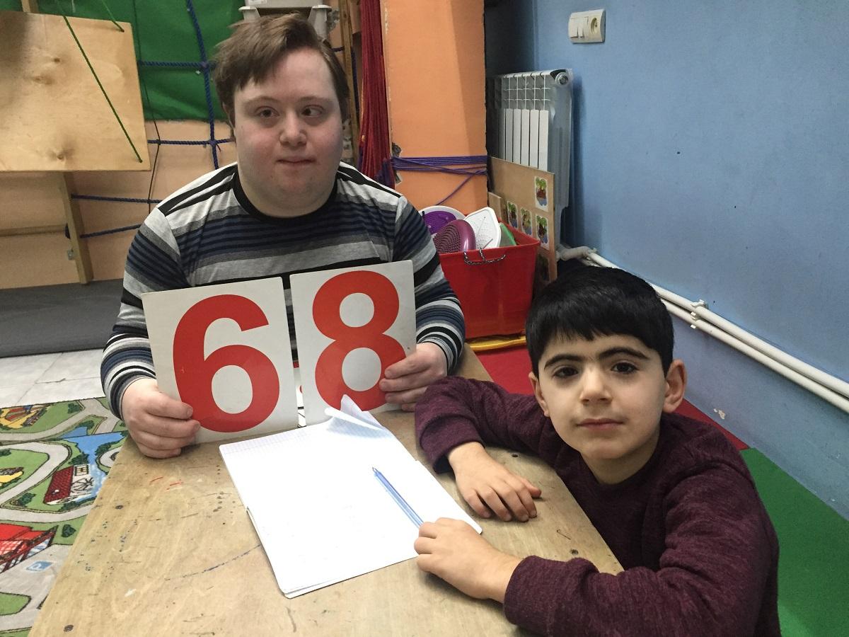 Дети с аутизмом в Армении