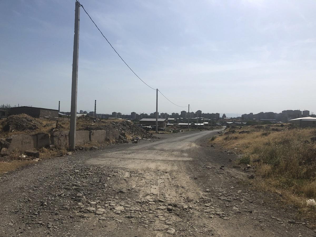 Yerevan's crumbling buildings