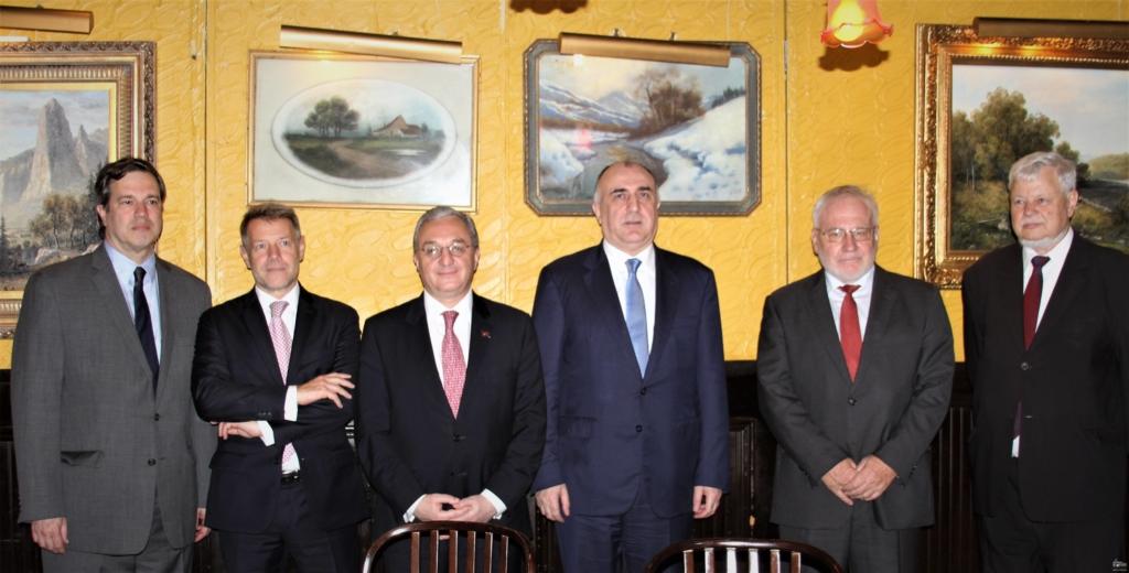 министр иностранных дел, Зограб Мнацаканян, Эльмар Мамедъяров, Нью-Йорк, сопредседатели Минской группы ОБСЕ