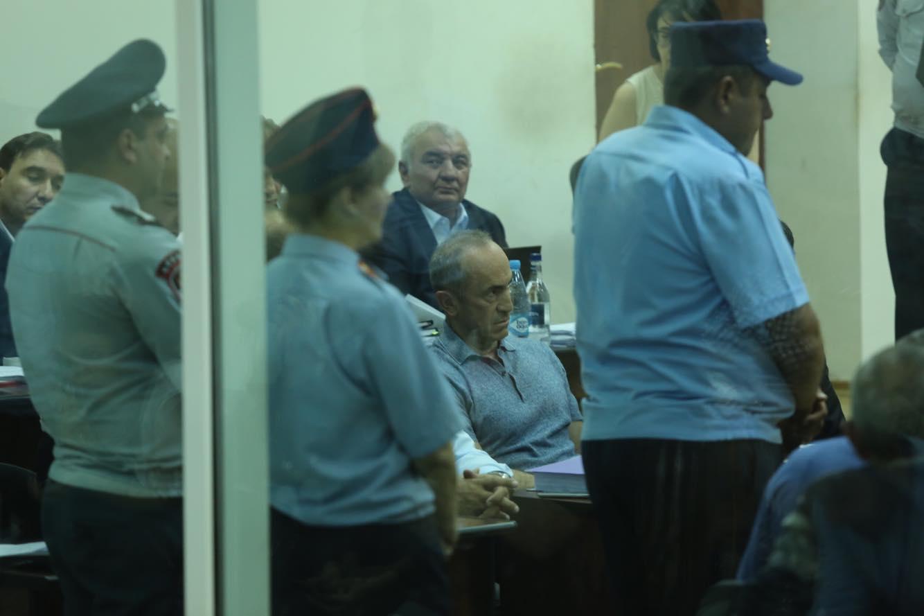 Роберт Кочарян, экс-президент, Конституционный суд, дело 1 марта, Никол Пашинян, премьер, спикер, Арарат Мирзоян