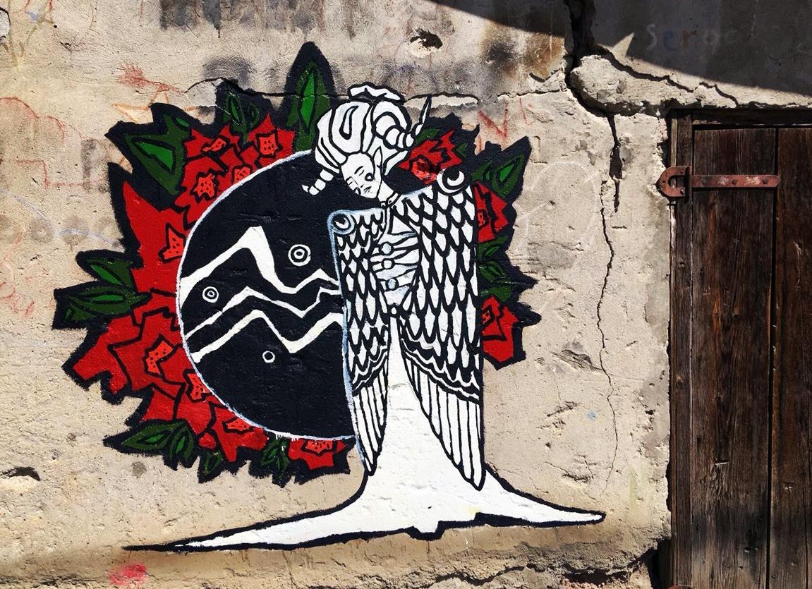 street art in South Ossetia