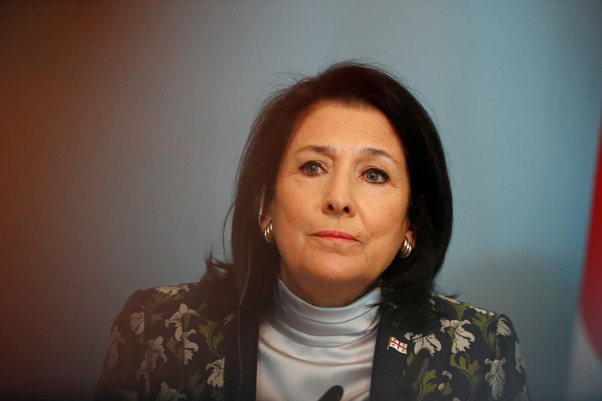 President of Georgia Salome Zourabishvili
