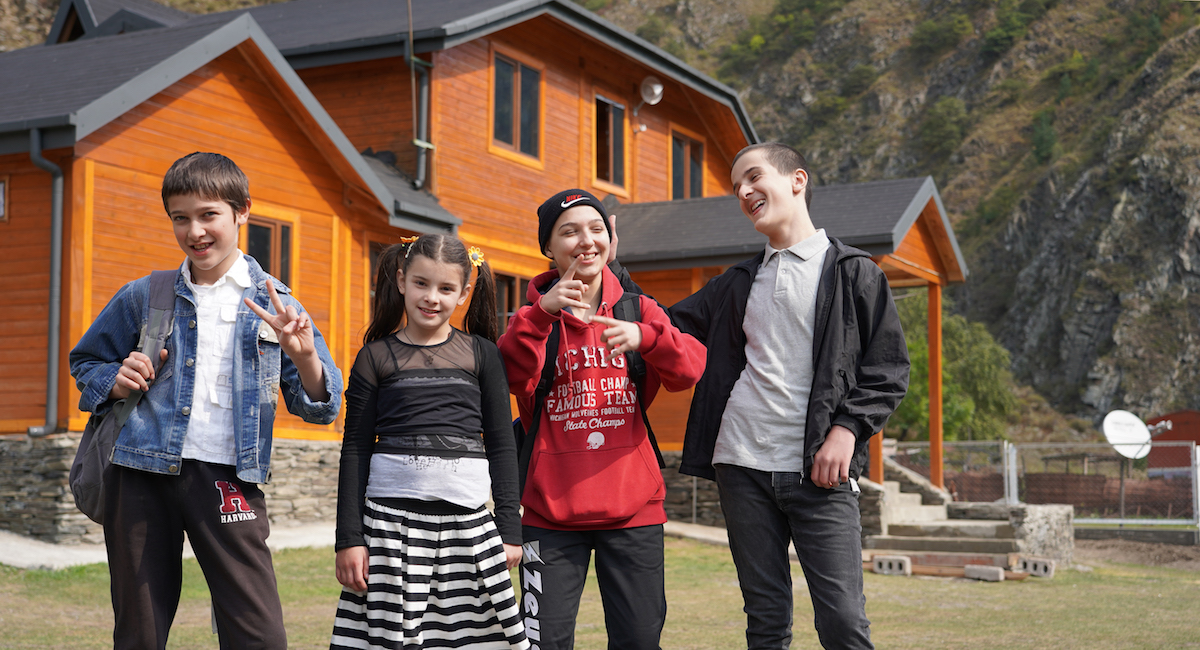 Pupils of the school in Shatili, Georgia. Migration from mountain villages. Photo: David Pipia, JAMnews