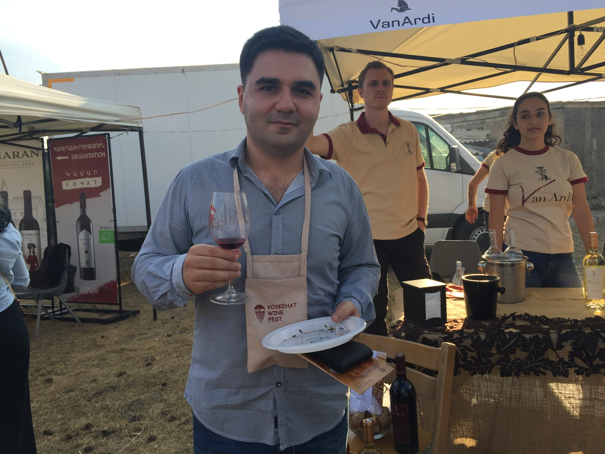 """An expert on food quality, David Pipoyan considers the last five years as an """"era of revival"""" for Armenian wines. Armenian wines and producers"""