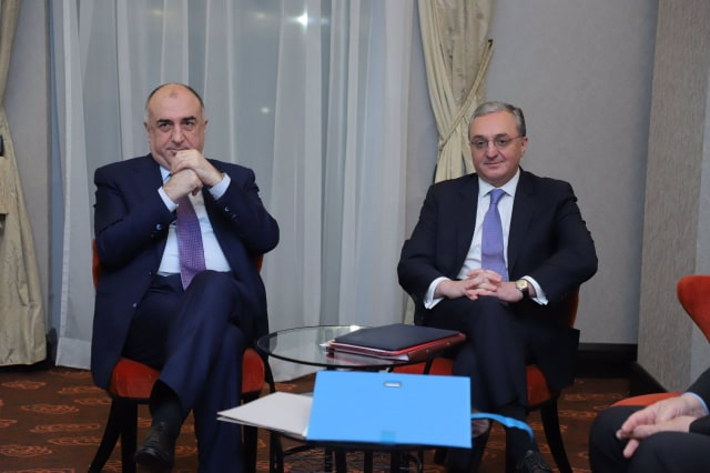 Zohrab Mnatsakanyan, Elmar Mammadyarov, Nagorno-Karabakh, OSCE, negotiations, conflict, Bratislava, OSCE Ministerial Conference, co-chairs of the OSCE Minsk Group