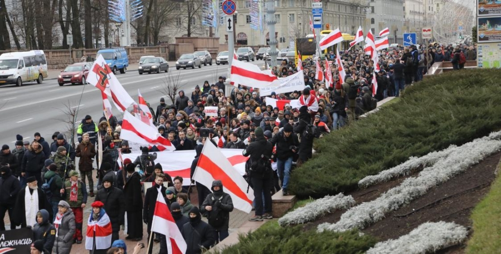Protests in Minsk