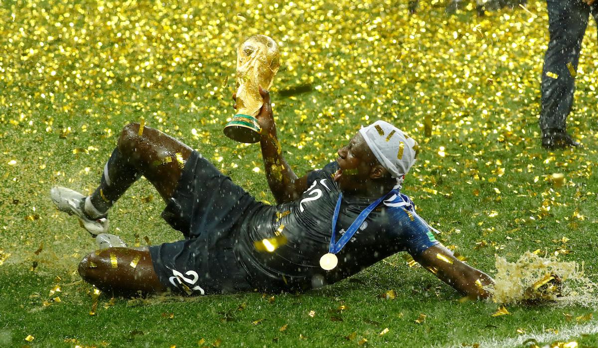 Франция стала чемпионом мира по футболу в 2018 году