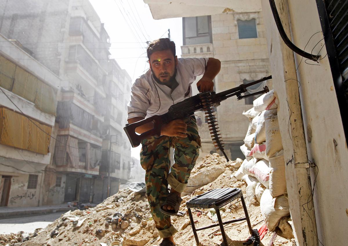 Битва за город Алеппо, крупнейший город Сирии, началась 19 июля 2012 года