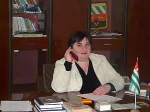 Aida Chchkhalia, Abkhazia