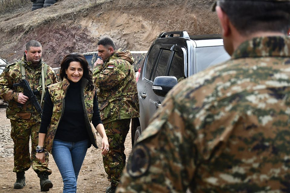 Աննա Հակոբյան, Մեհրիբան Ալիևա, առաջին տիկին, Լեռնային Ղարաբաղ, ղարաբաղյան հակամարտություն, հակամարտության կարգավորում