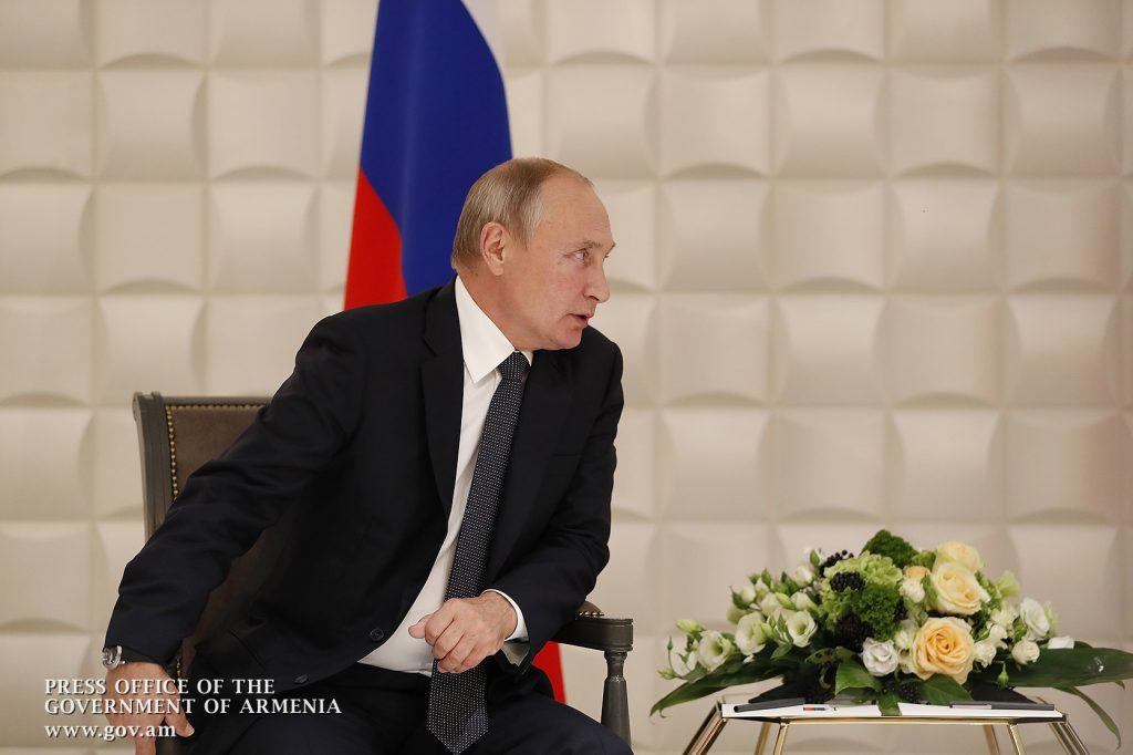 Vladimir Putin, Robert Koçaryan, Yerevan
