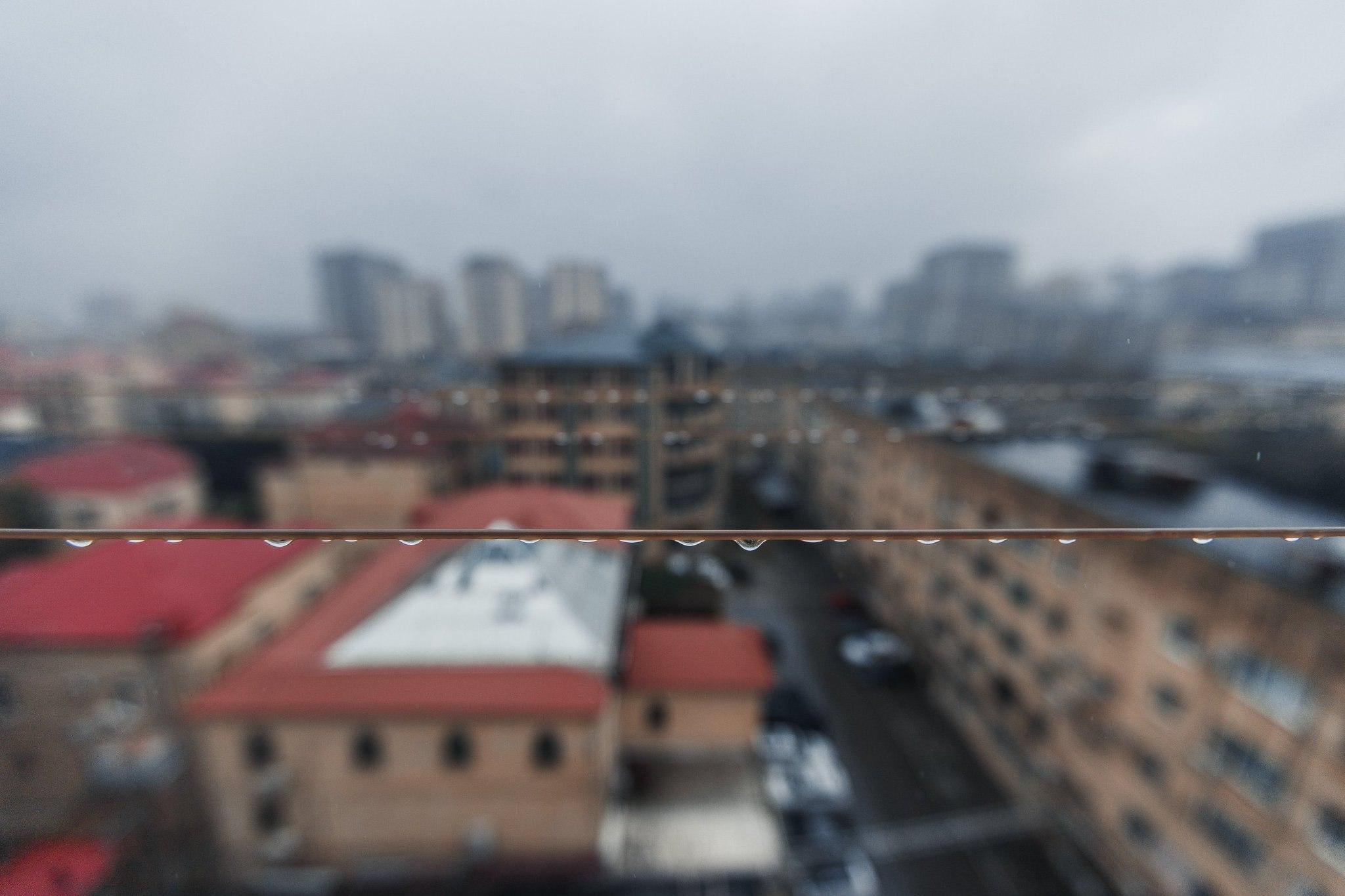 Rain in Baku