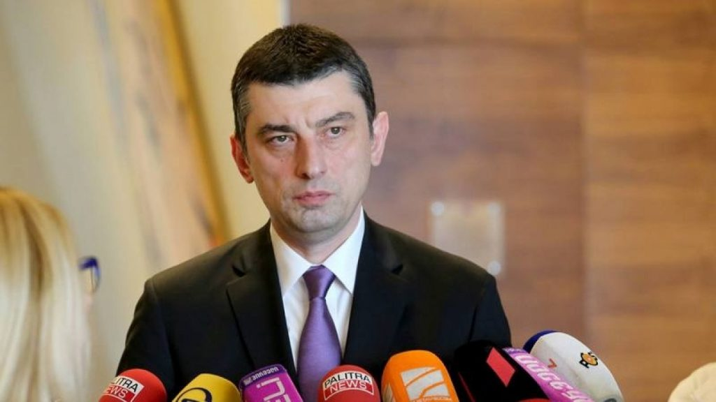 Премьер-министр Грузии Гиоргий Гахария გიორგი გახარია
