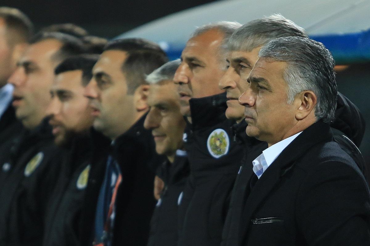 Италия-Армения, сборная Армении по футболу, спорт, футбольная федерация, Ванецян, Хашманян