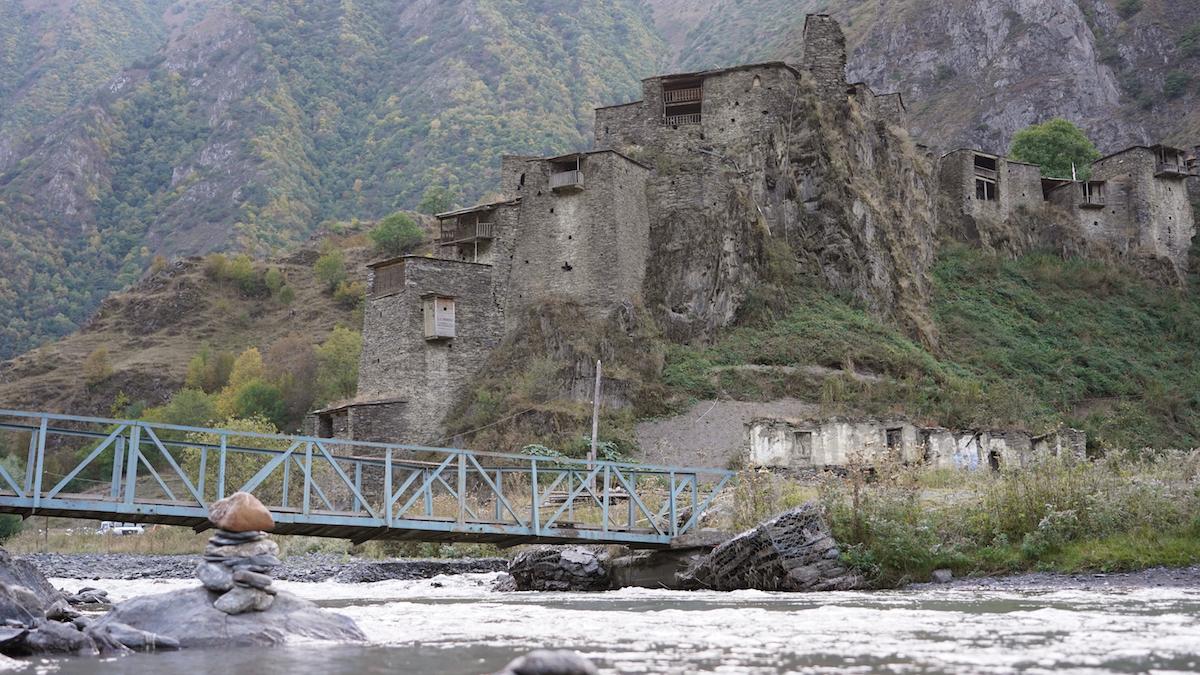 შატილი Şatili, Gürcüstan