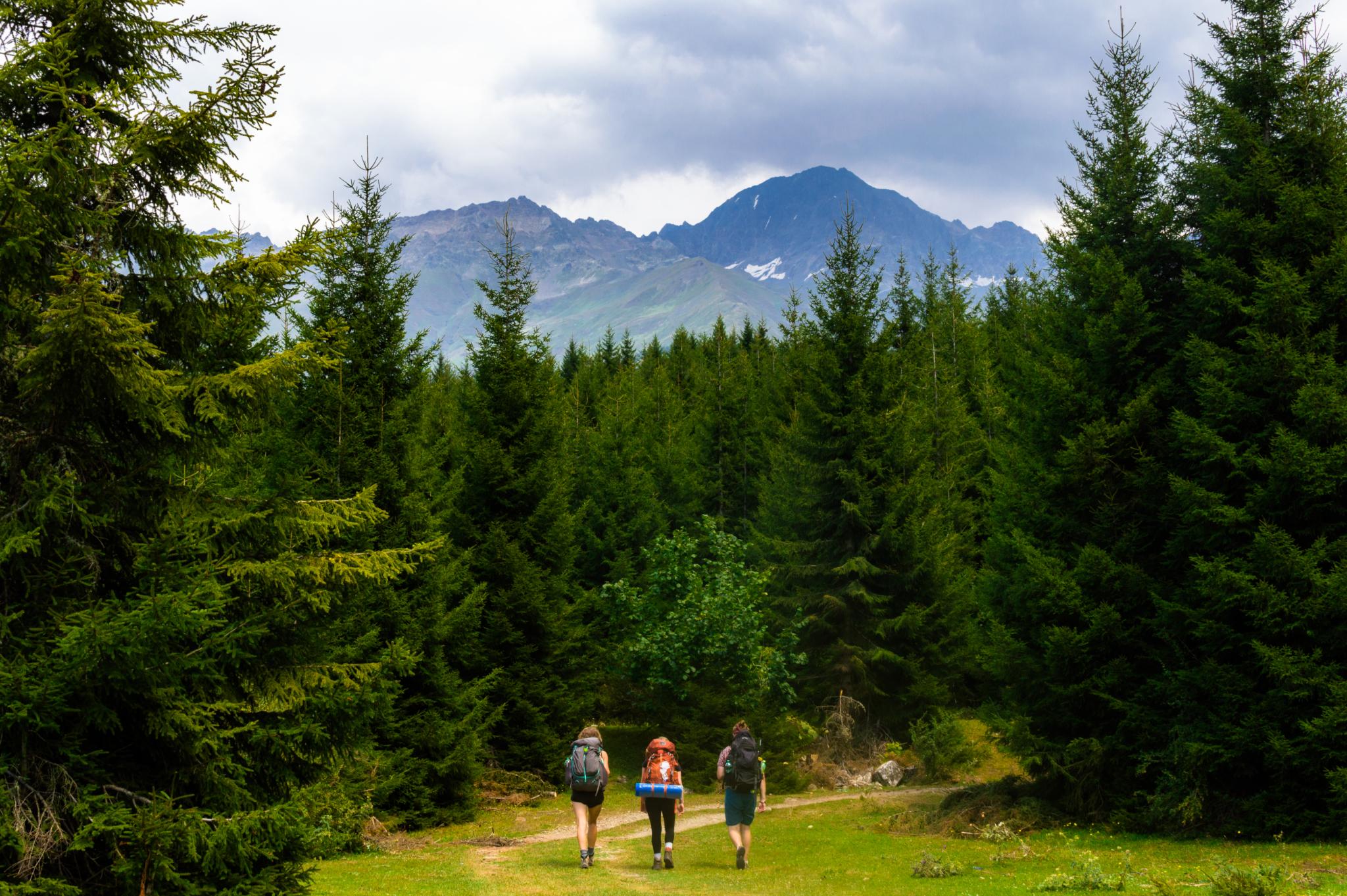 Регион Сванети в Грузии - самая высокая обитаемая зона в Европе.