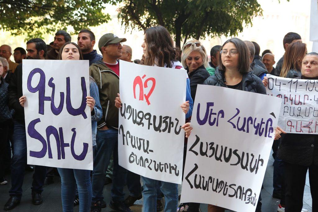 Араик Арутюнян, министр образования Армении, скандал, отставка, дашнакцутюн, ЕГУ