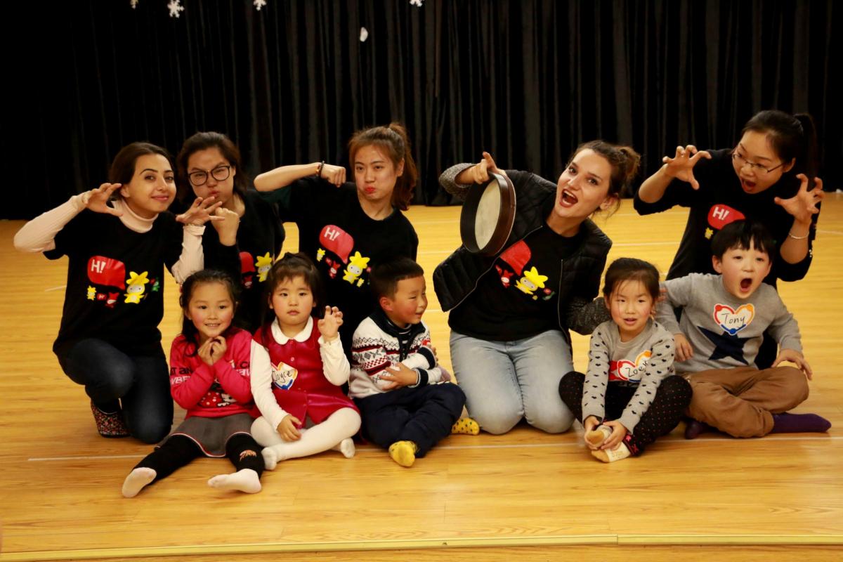 China, Armenians, pupils