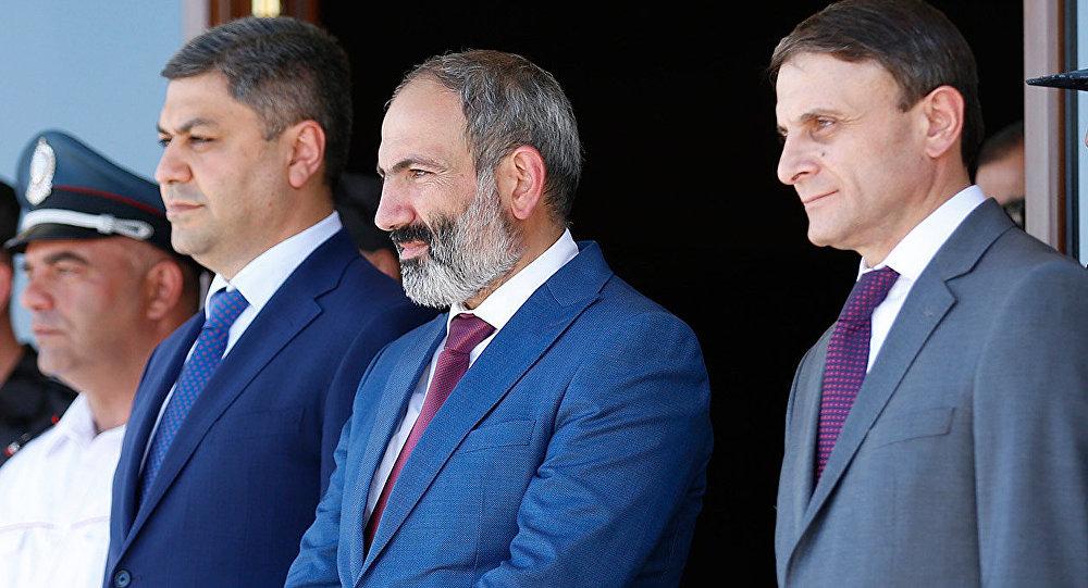 Артур Ванецян, СНБ, Никол Пашинян, Микаел Минасян, отставка, увольнение, силовые ведомства, полиция