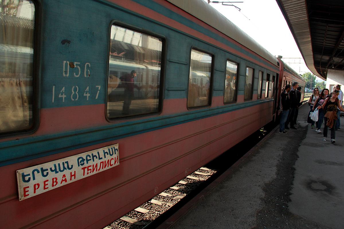 სომხეთი, გაფიცვა, სამხრეთი კავკასიის რკინიგზა, რუსეთის სარკინიგზო ხაზები