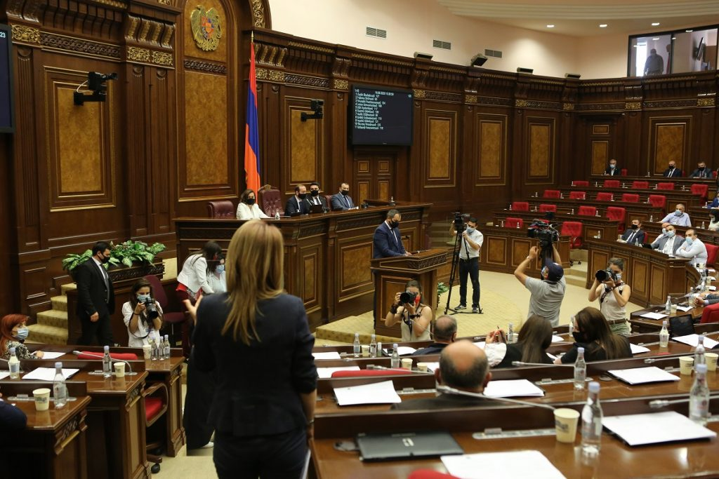 Armenia, parliament, petition of the Prosecutor General, Gagik Tsarukyan, oligarch, demand for the resignation of the government, political persecution, Naira Zohrabyan, Prosperous Armenia party, Nikol Pashinyan, Enlightened Armenia party,