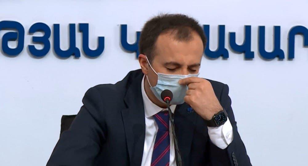 Արսեն Թորոսյան, կորոնավիրուս,
