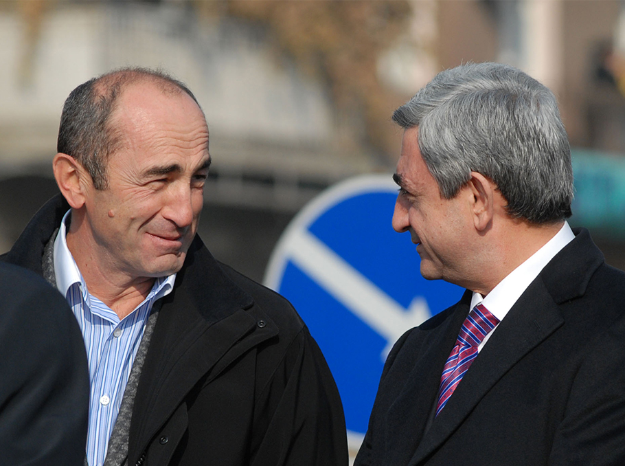 Serzh Sargsyan, Robert Kocharyan, March 1