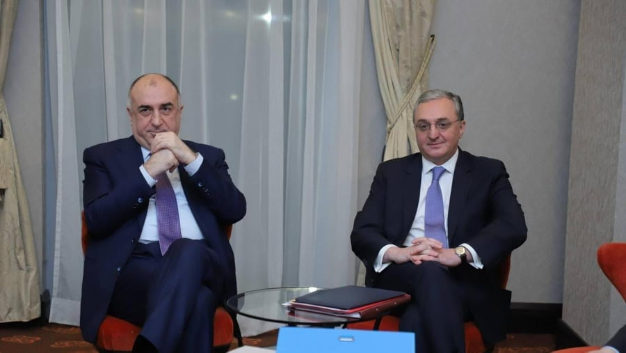 online negotiations, meeting of the Foreign Ministers of Armenia and Azerbaijan, Nagorno-Karabakh, Zohrab Mnatsakanyan, Elmar Mammadyarov, co-chairs of the OSCE Minsk Group,