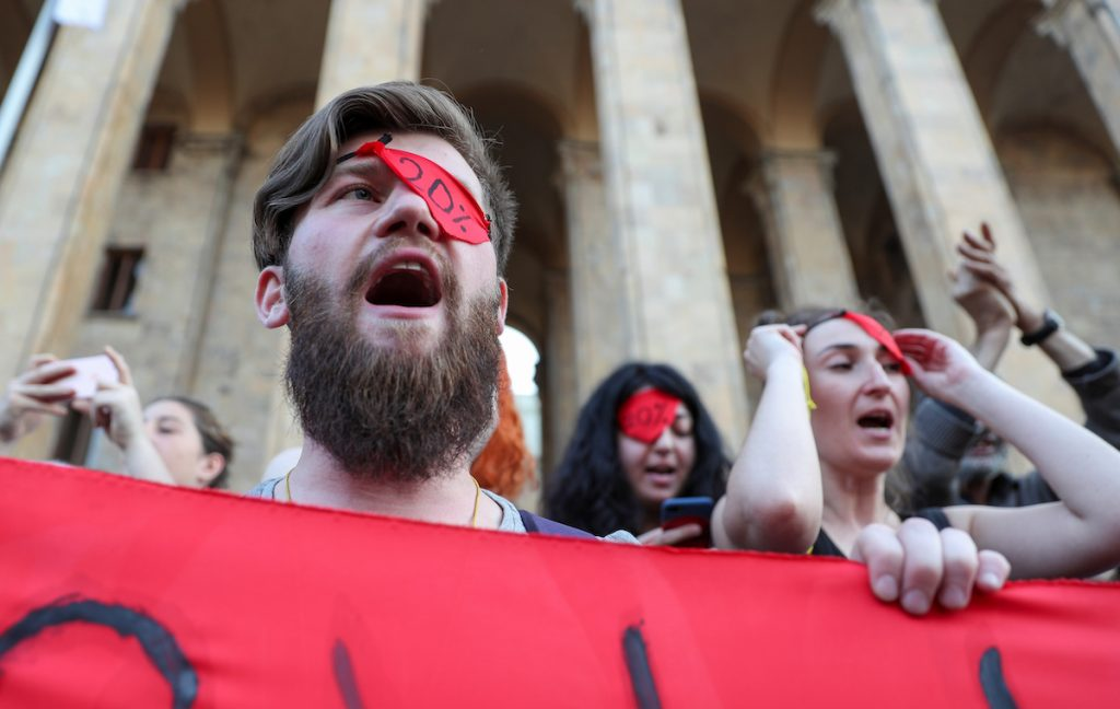 One year has passed since the violent dispersal of mass protests in front of the Tbilisi parliament. A chronology of events
