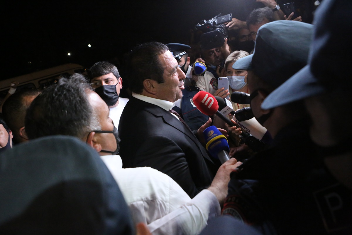 Armenia, businessman, MP, Gagik Tsarukyan, arrest, opposition, Prosperous Armenia, revoke parliamentary immunity,